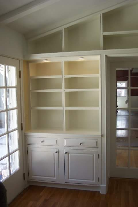 Built-in Book Case & Desk