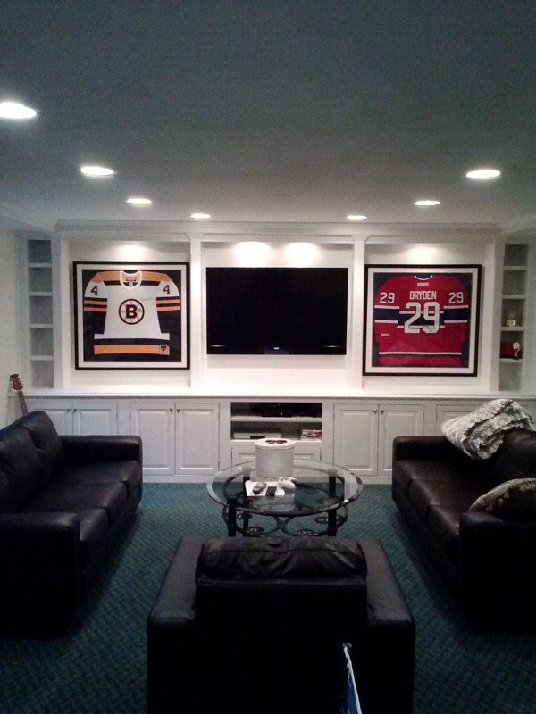 Built In Cabinets Man Cave